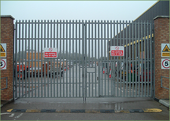 Industrial Gates Security Gates Amp Commercial Gates In