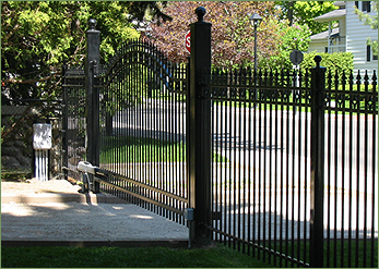 wrought iron fence gate. We Don\u0027t Believe Feeling Protected Has To Come At The Expense Of Ascetic Appeal. Can Help You Assess Exactly What Your Needs Are And Find Works For Wrought Iron Fence Gate