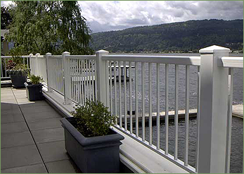 We Specialize In The Unsurpassed Versatility And Quality Of Aluminum  Railing. We Can Help You Choose The Right Design And Colour To Suit Your  Deck, ...