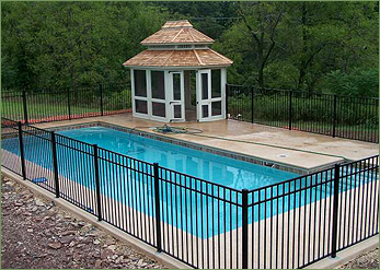 fence installation for swimming pools hot tubs spas pool safety