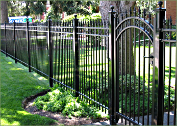 Ornamental Fencing Iron Fence Wrought Installation In Owen Sound Ontario